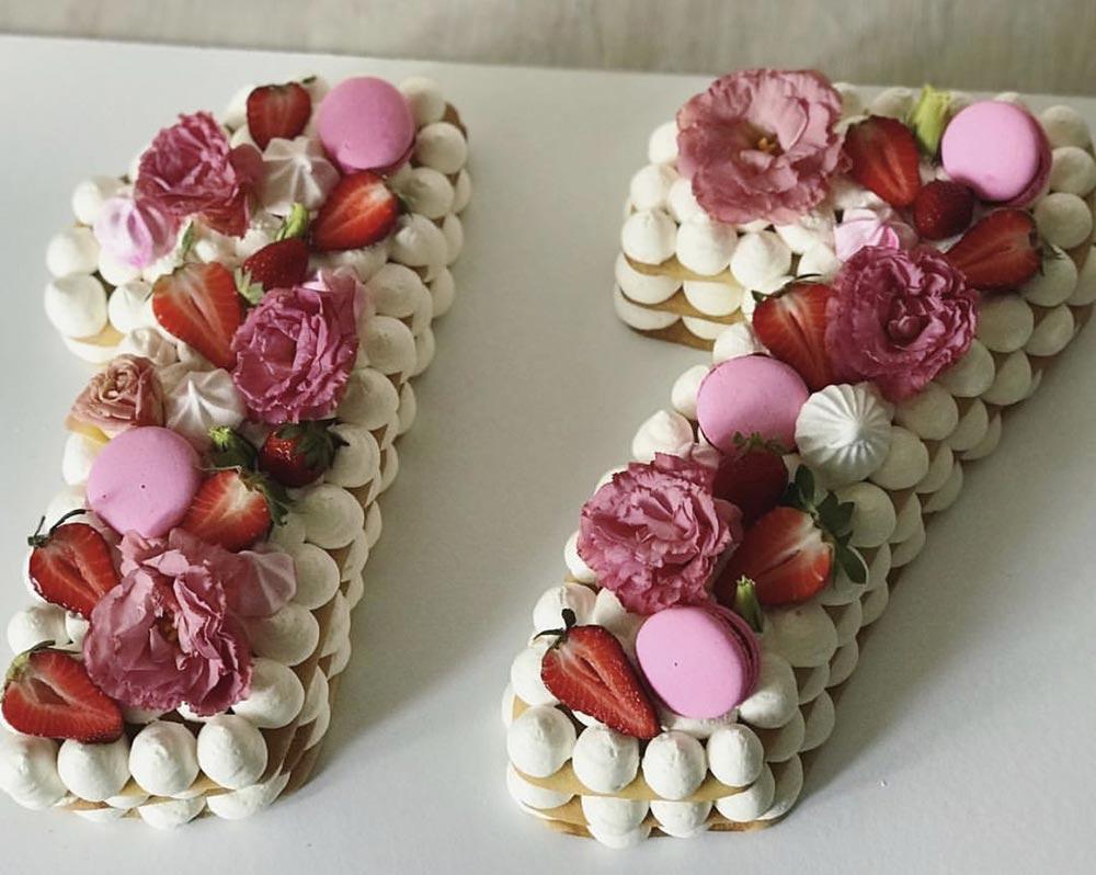 Торт Сладкие семнадцать