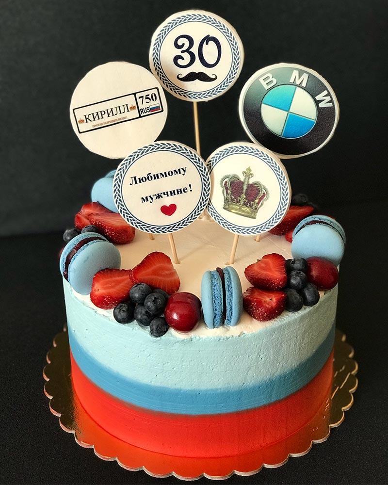 Торт BMW