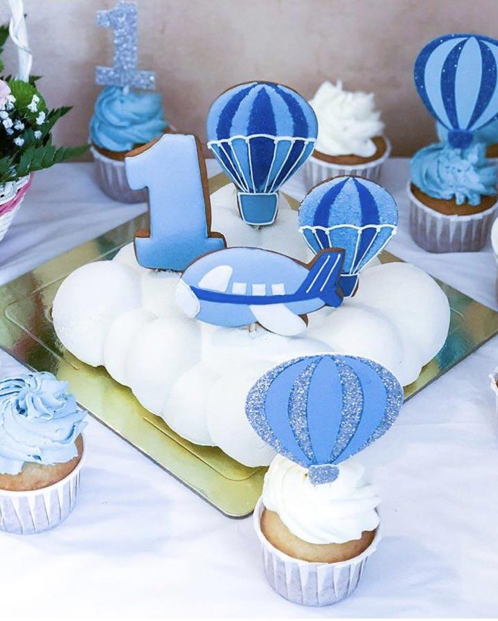Торт Воздушные шары в облаках