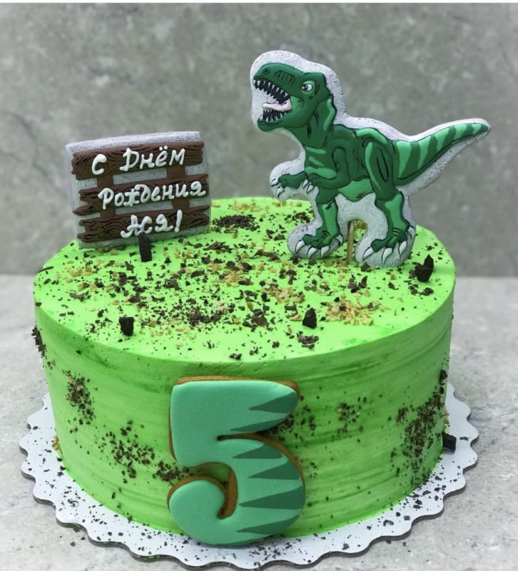 Торт Парк Юрского периода