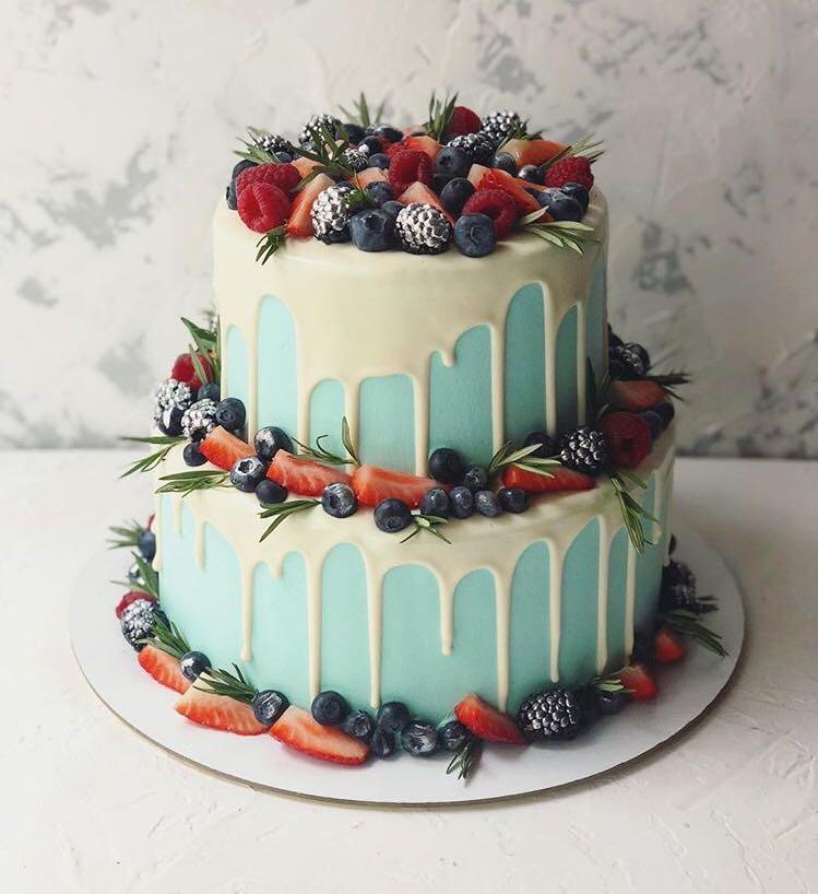 Торт Голубое сияние
