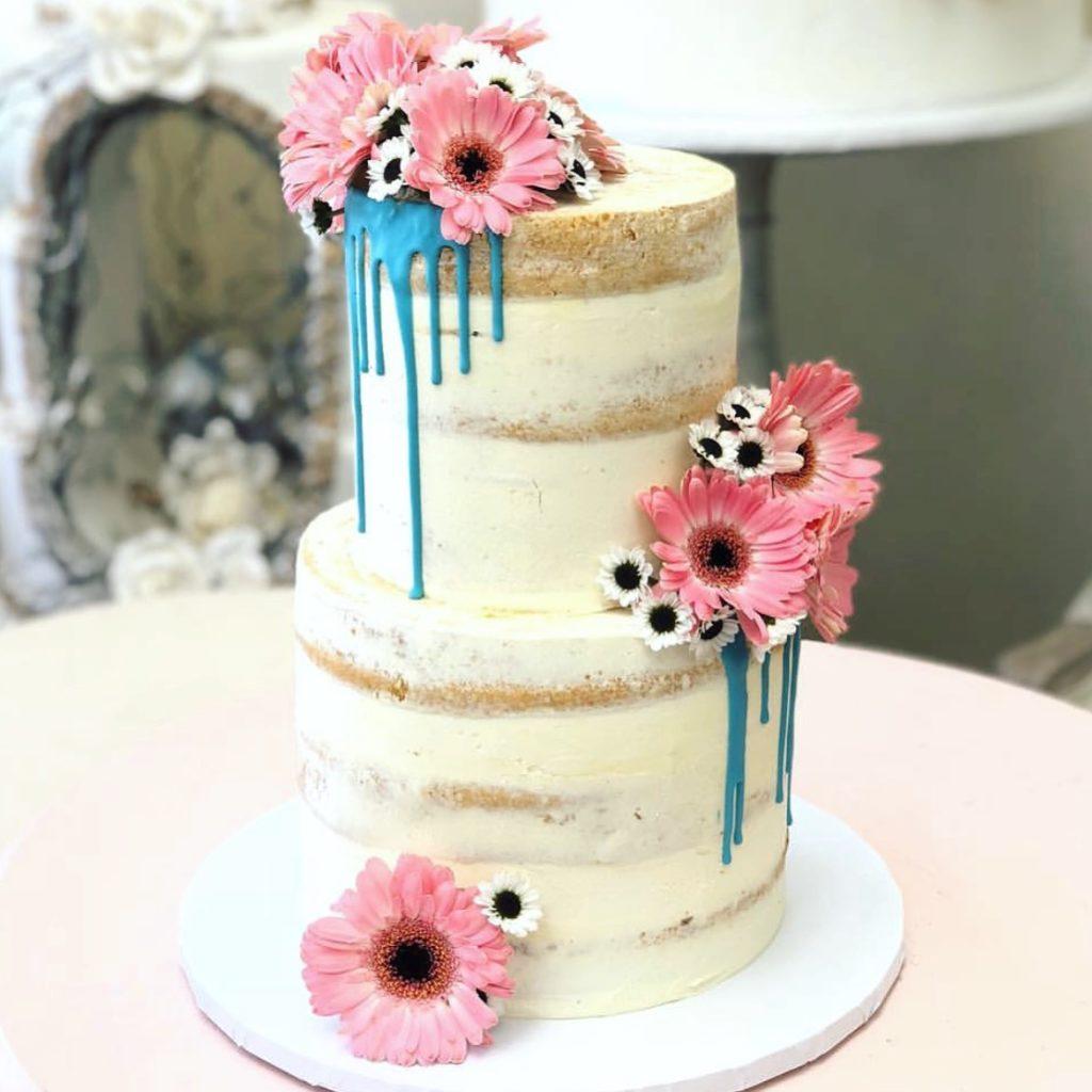 Торт Розовая гербера