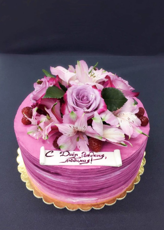 Торт Нежный цветок