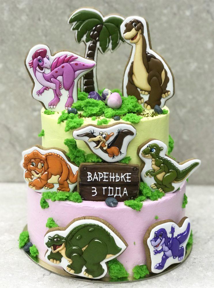 Торт Динозаврия