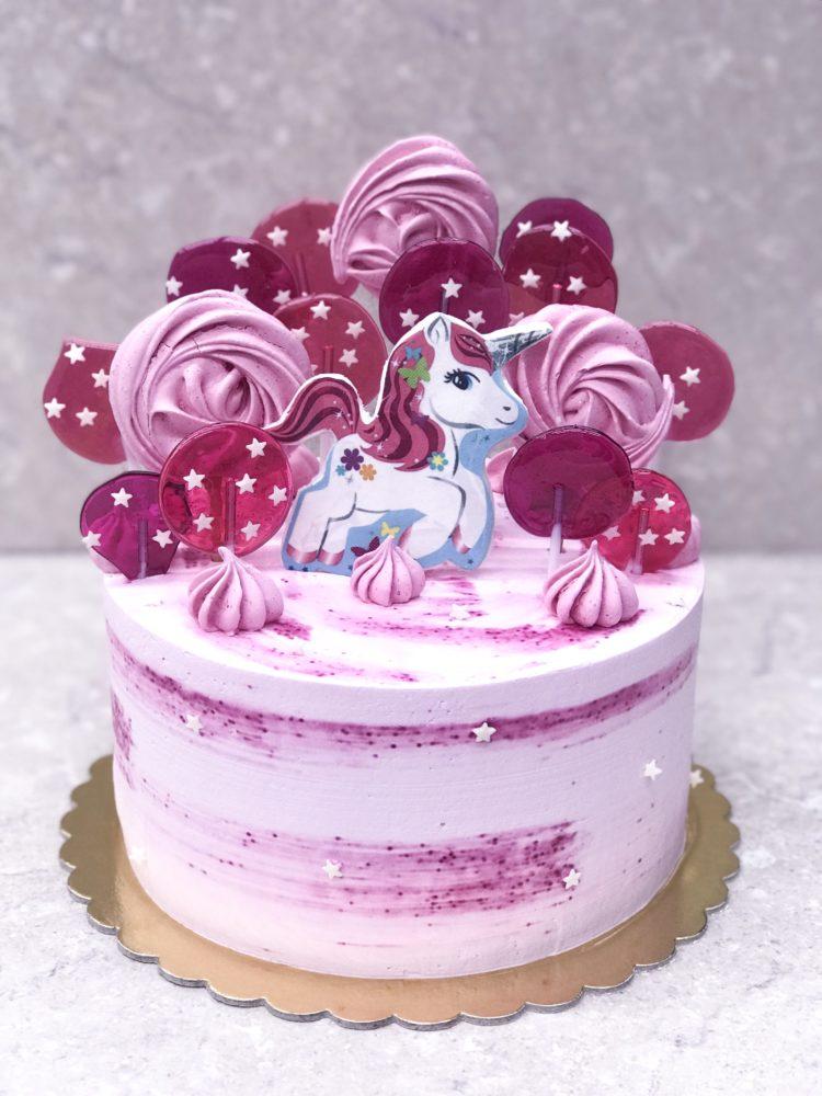 Торт Сказочный единорог