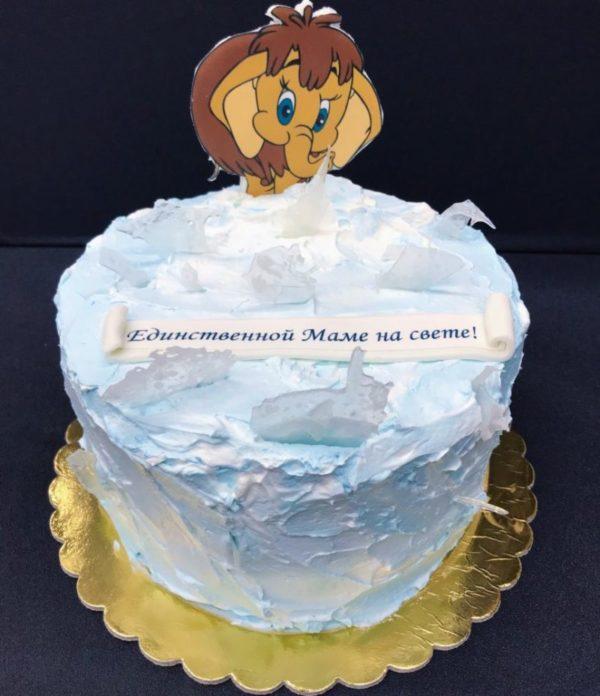 Торт Мамонтенок