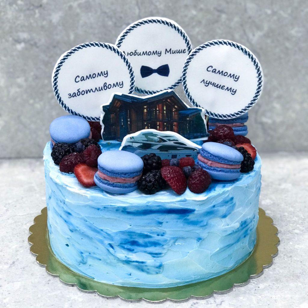 Торт Домик у моря