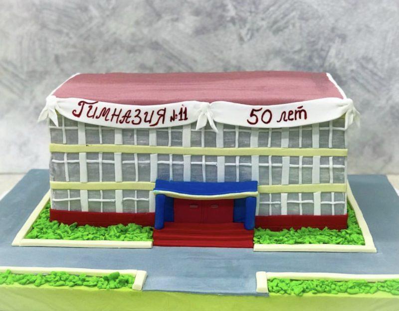 Торт Любимая школа