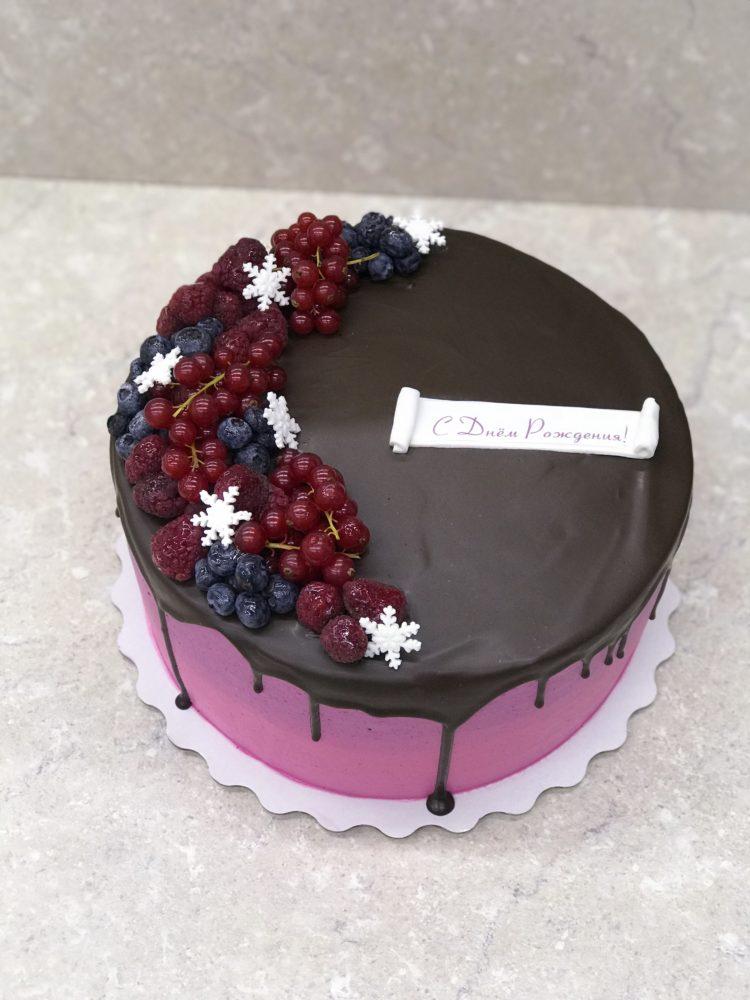 Торт Зимняя ягода