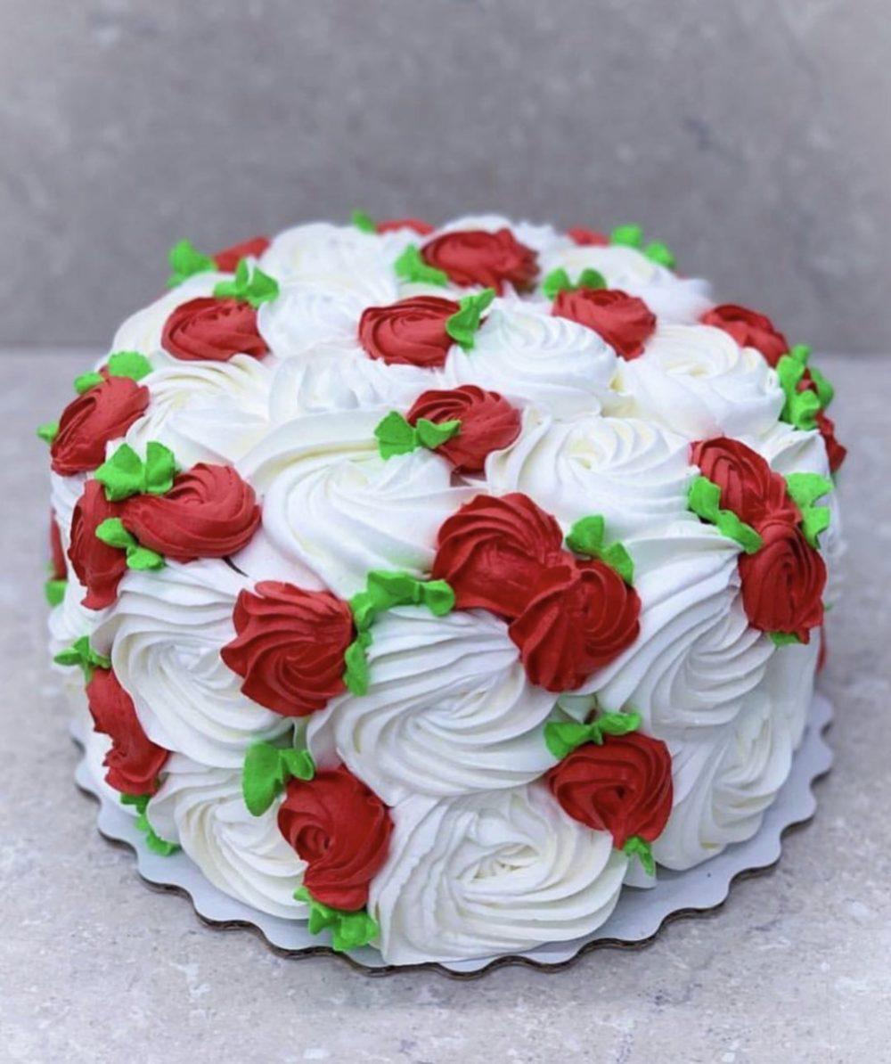 Торт Сладкая роза