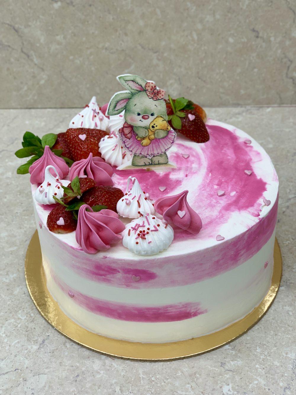 Торт Маленькая зайка