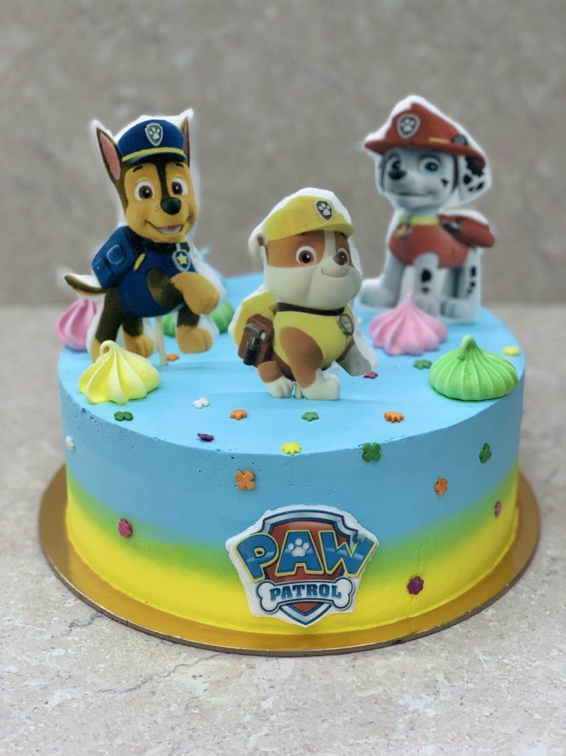 Торт Милые щенки