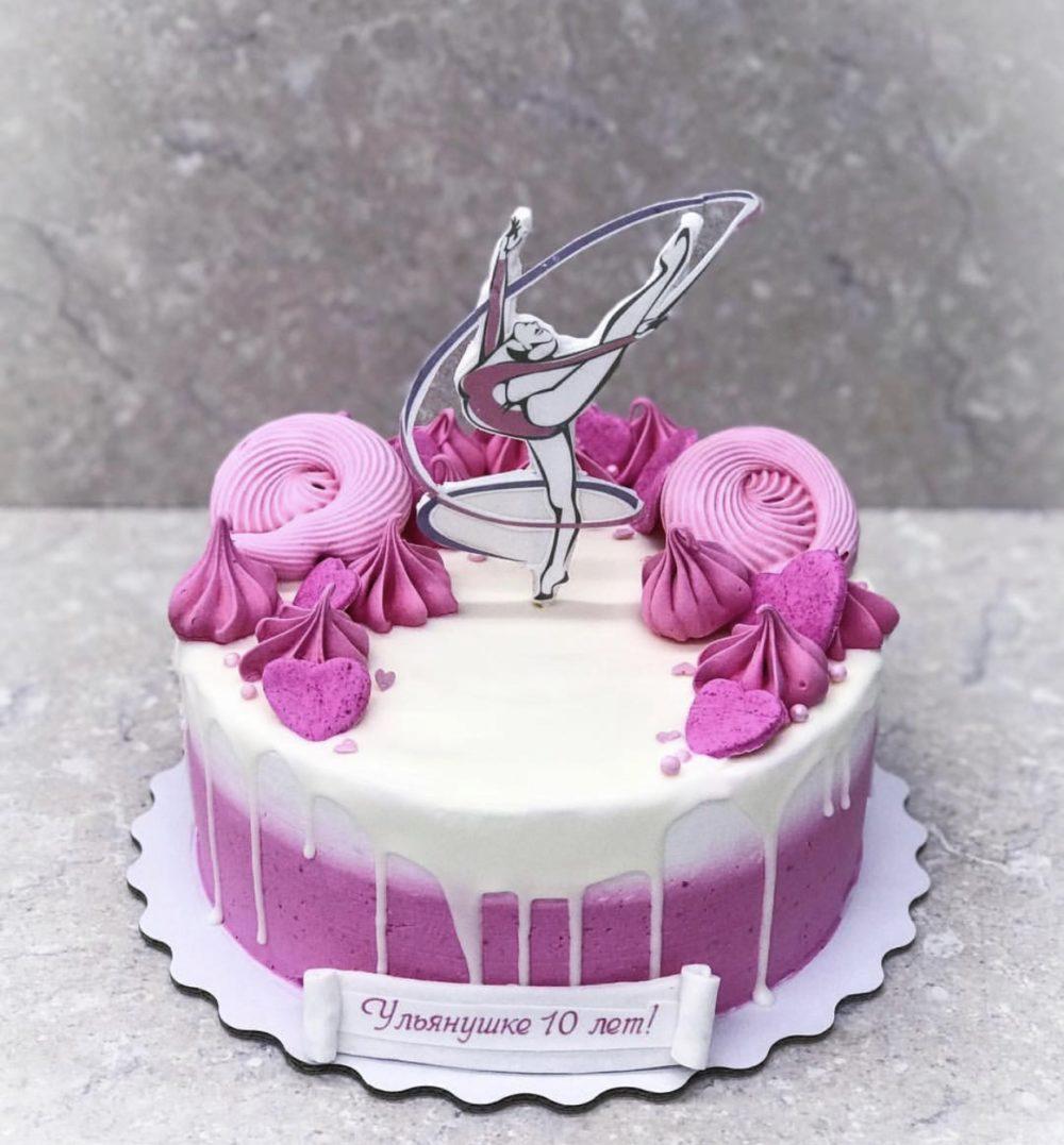 Торт Юной гимнастке