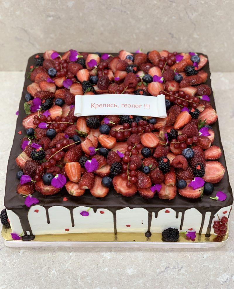 Торт Ягодное счастье