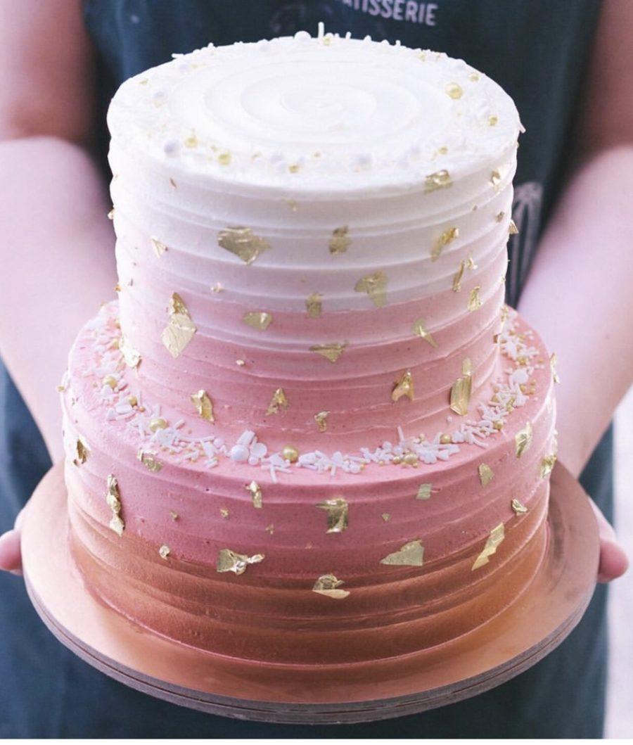 Торт Свадебное омбрэ
