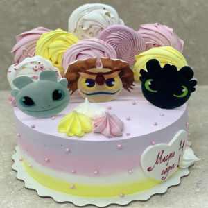 Торт Милые драконы