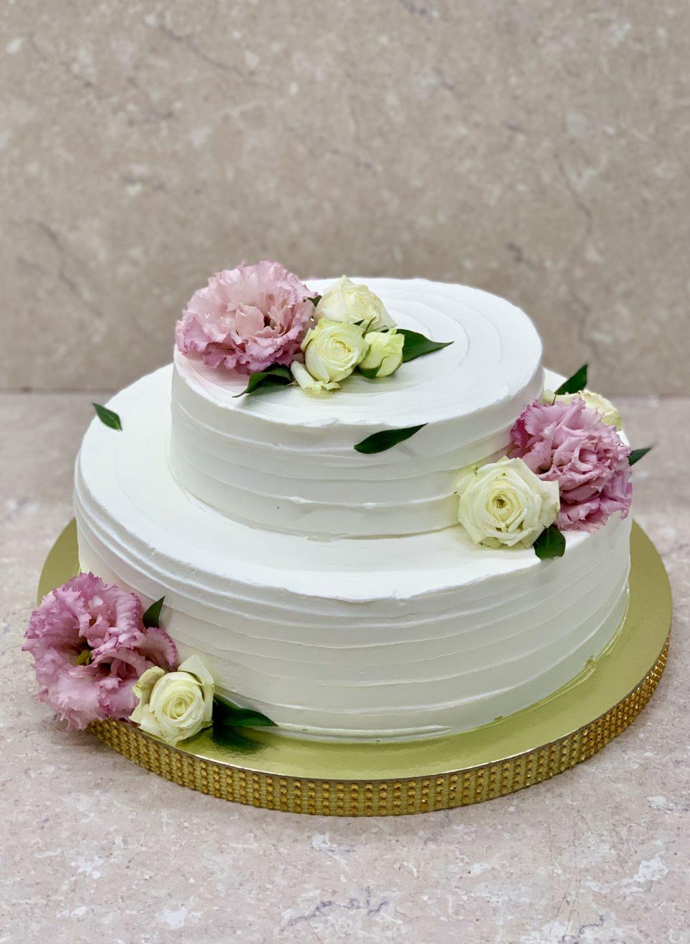 Торт Недные цветы