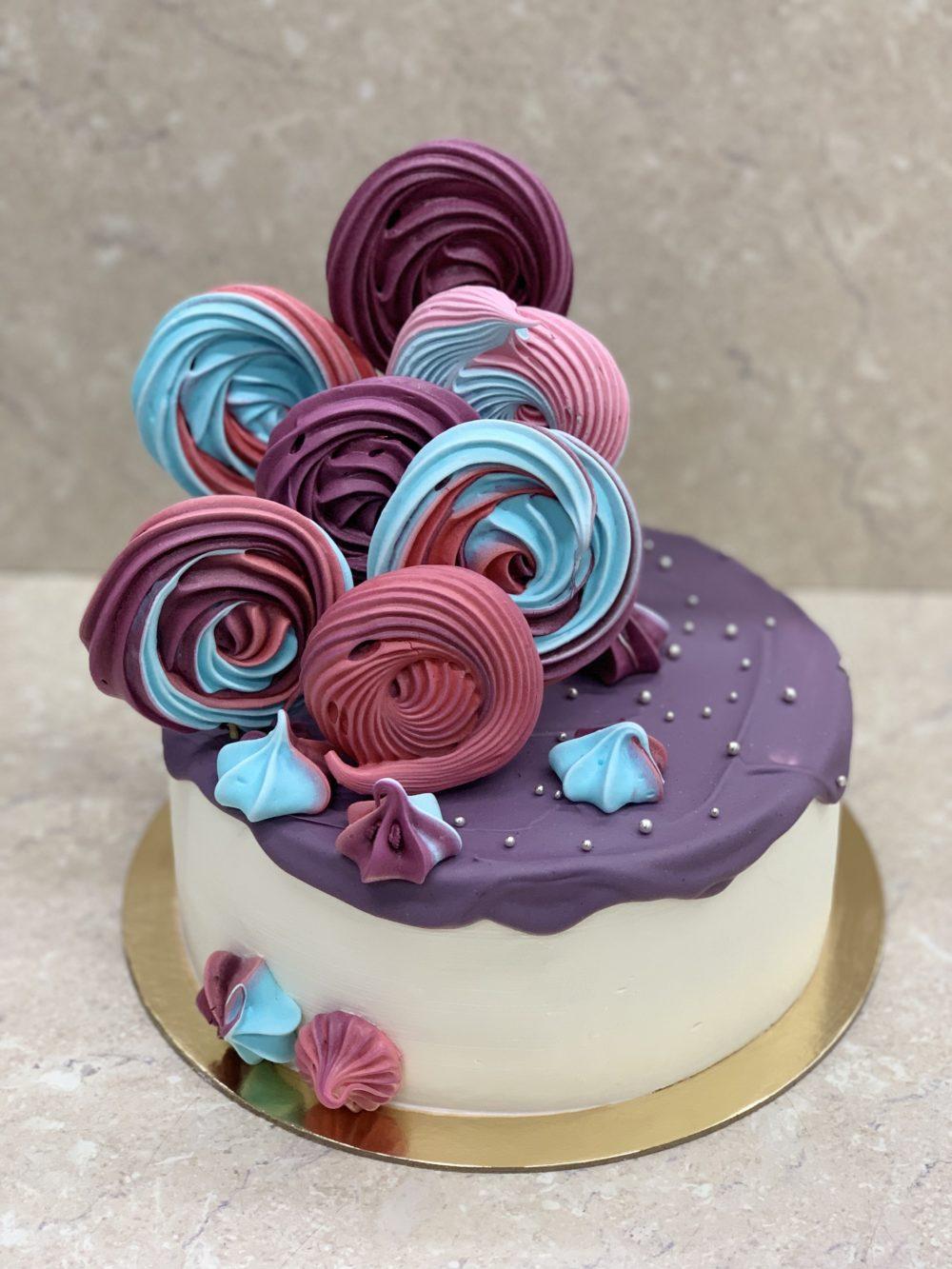 Торт Рай с безе