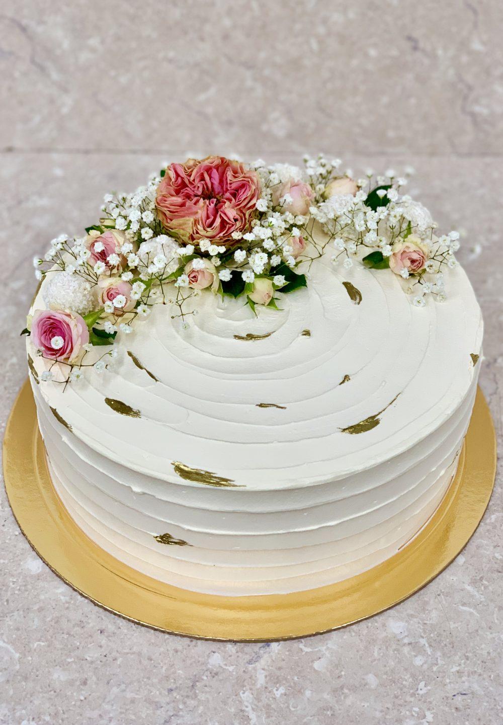 Торт «Цветочный рай»
