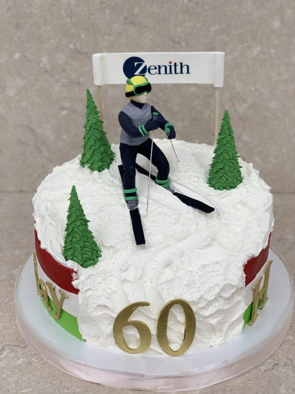 Торт «Лыжник из Италии»