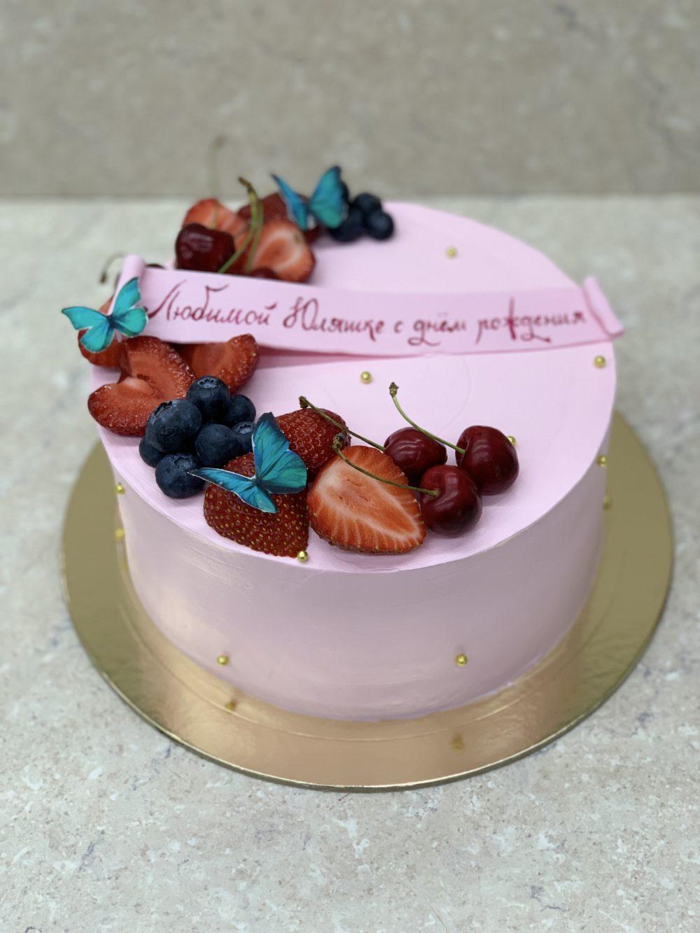 Торт «Сладенькие бабочки»