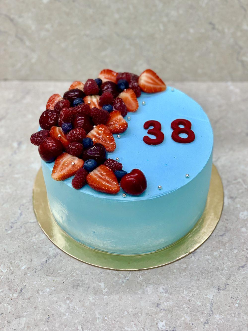 Торт Свежие ягоды