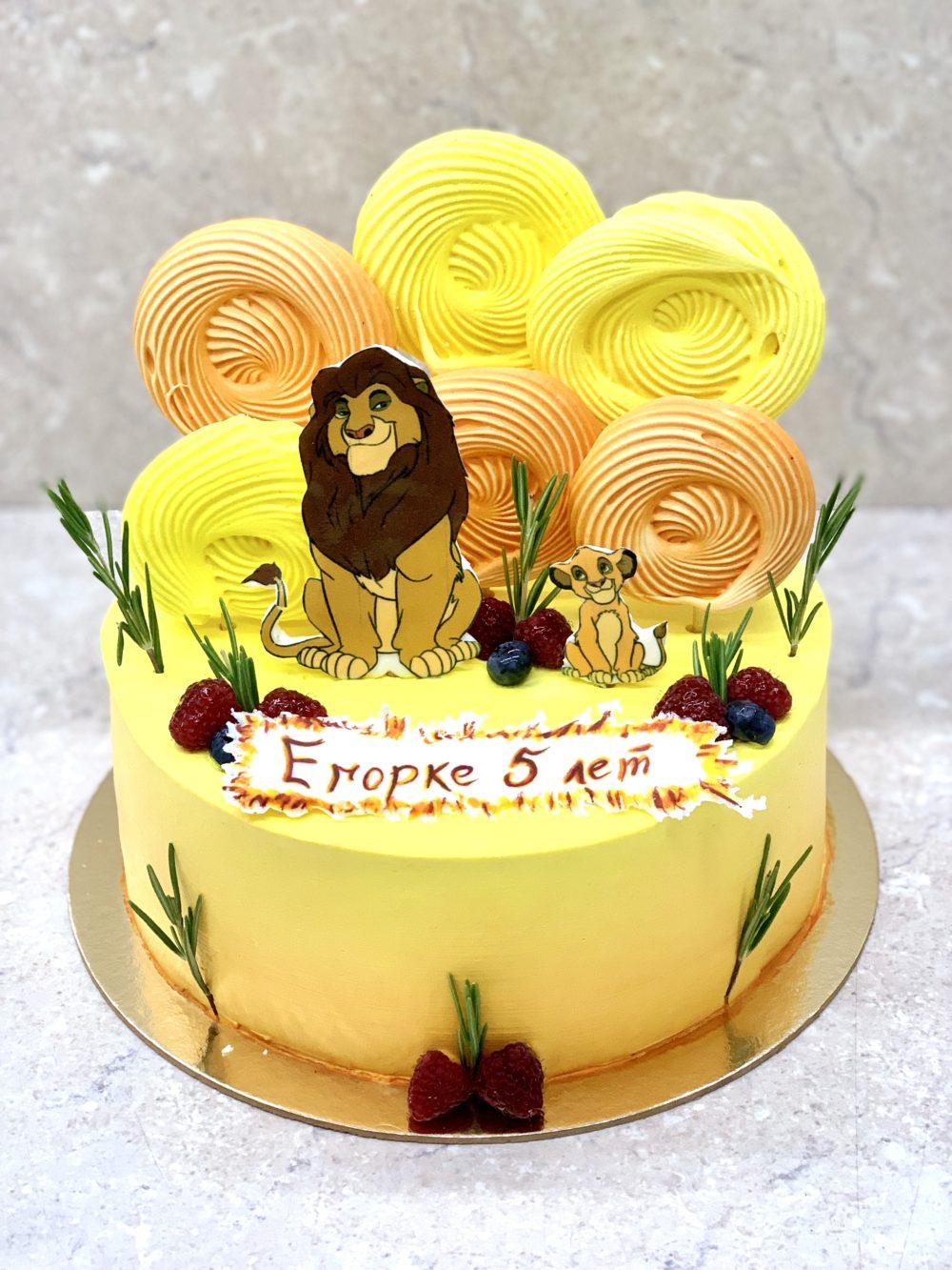 Торт Яркий и сочный