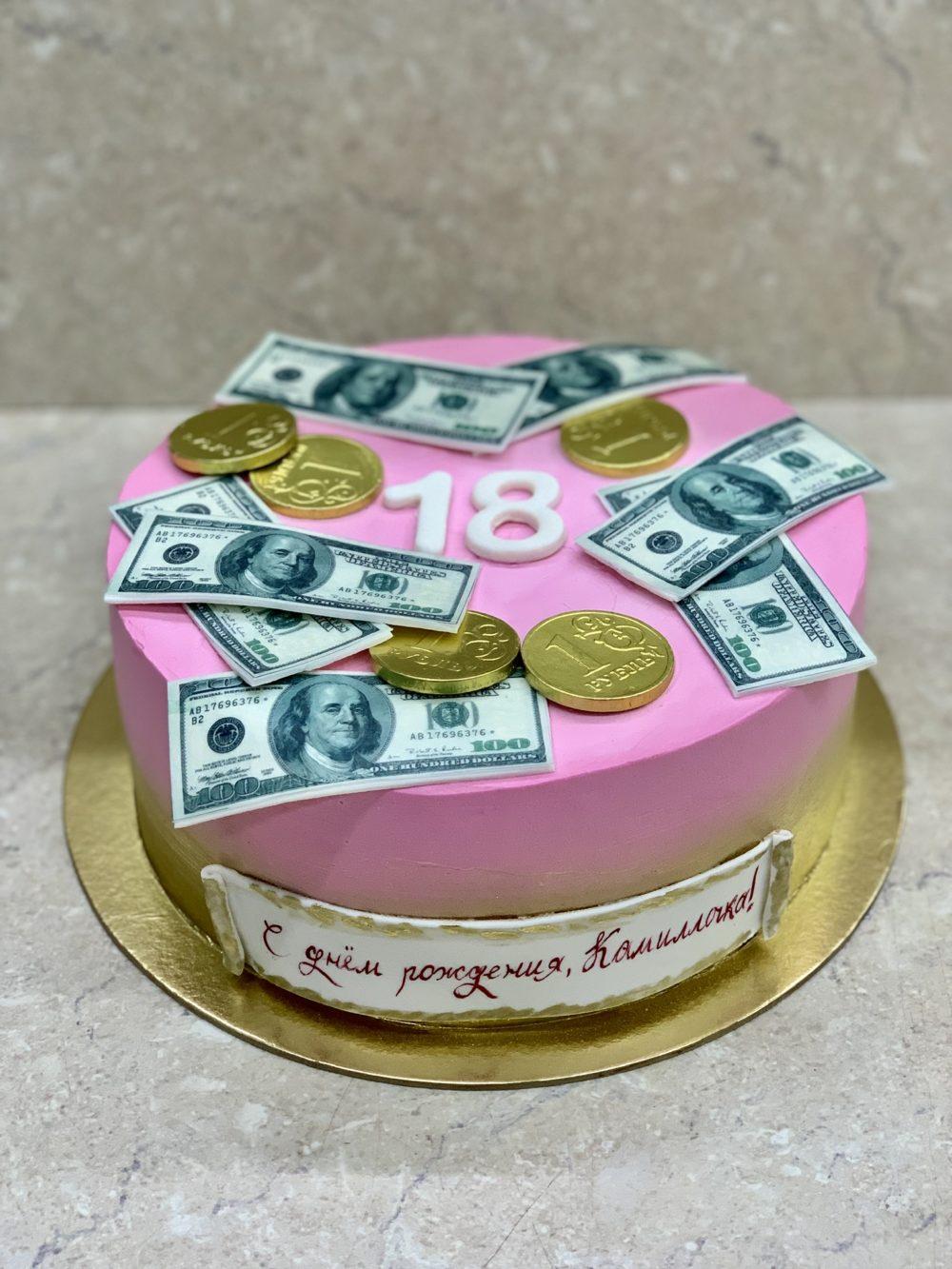 Торт Розовый рай