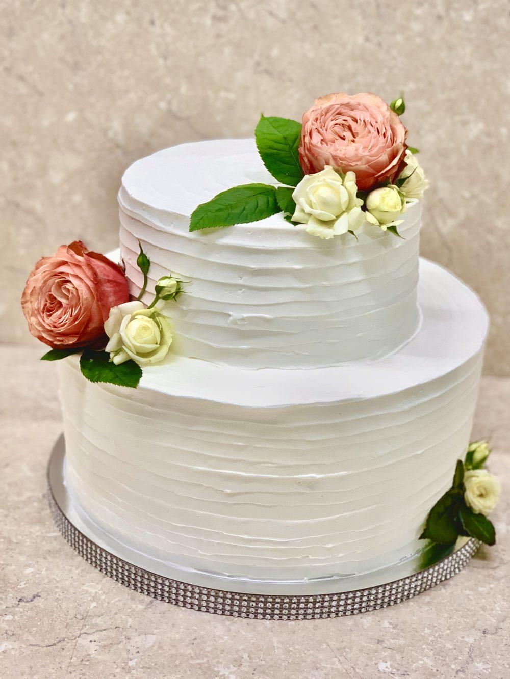 Торт Нежные цветы для мамы