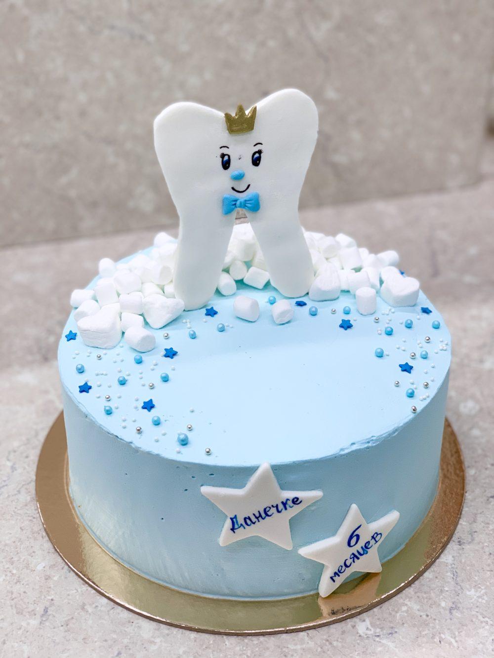 Торт Веселый зубик