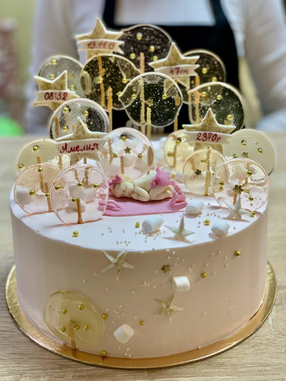 Торт Карамельный малыш
