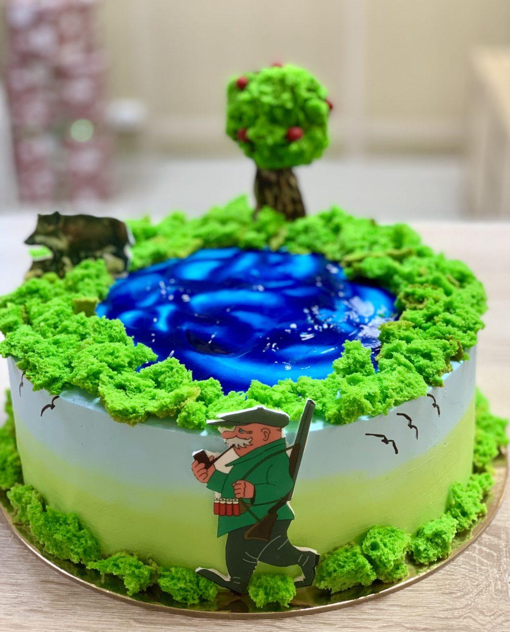 Торт Мужское хобби