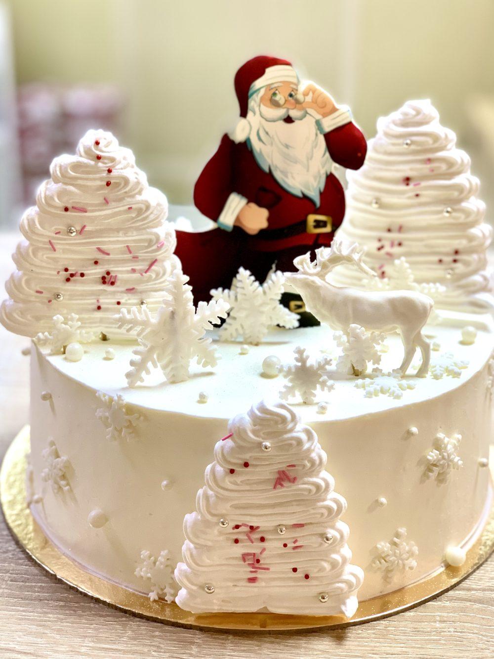 Торт Торт на Новый год