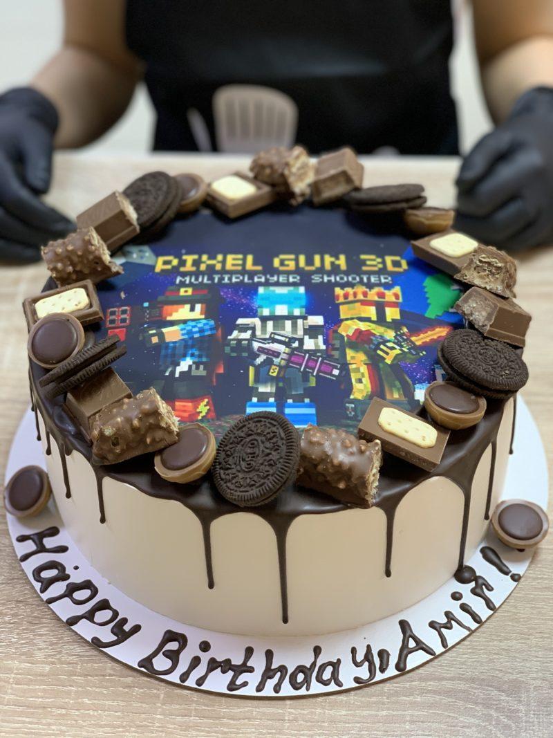 Торт Торт для любителя компьютерных игр