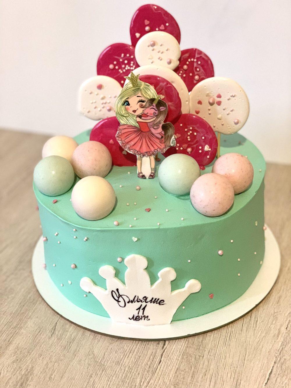 Торт Милая принцесса
