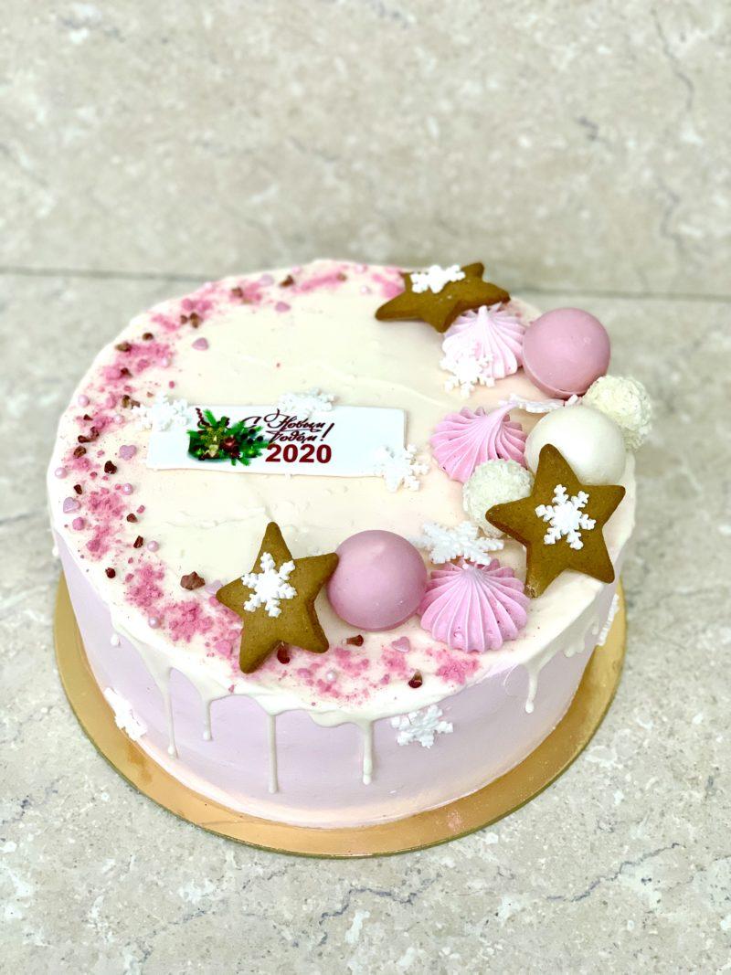 Торт Новогодняя Красота