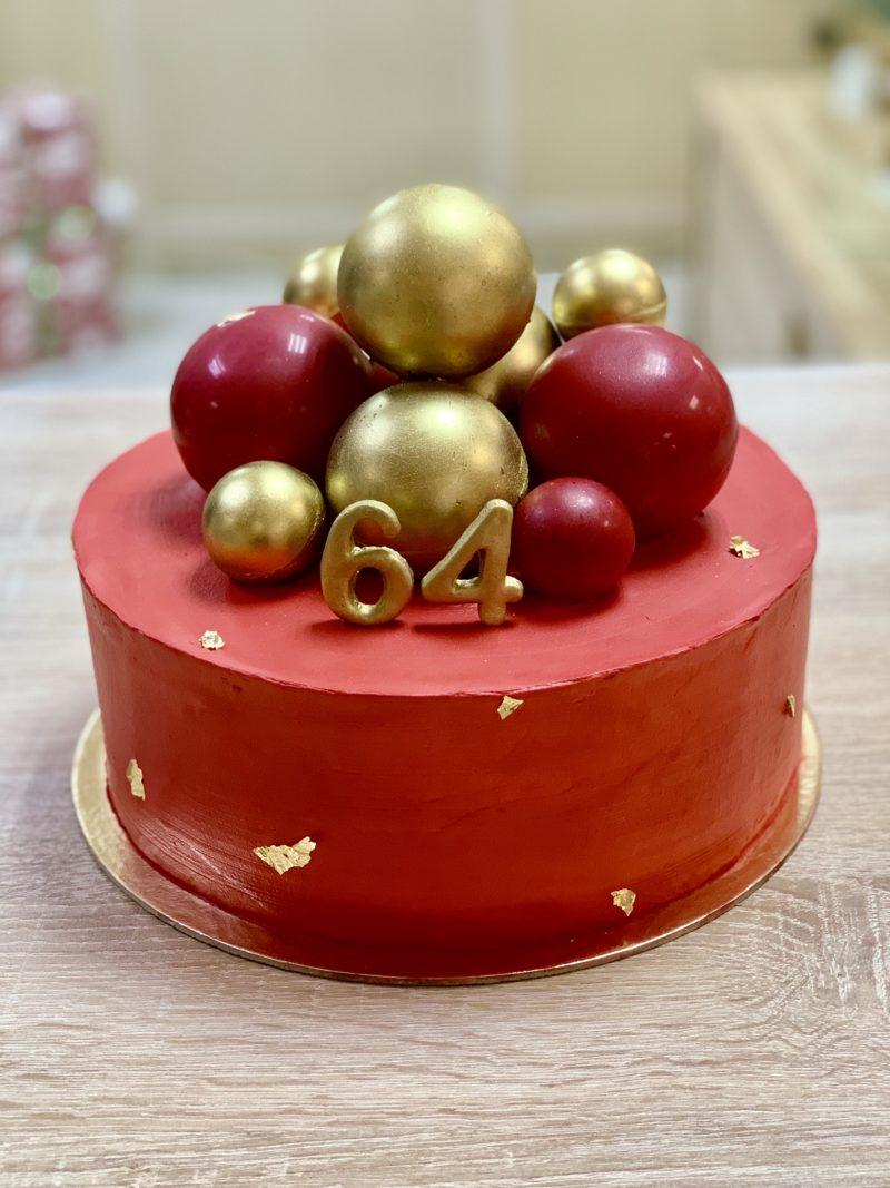Торт Страстный красный