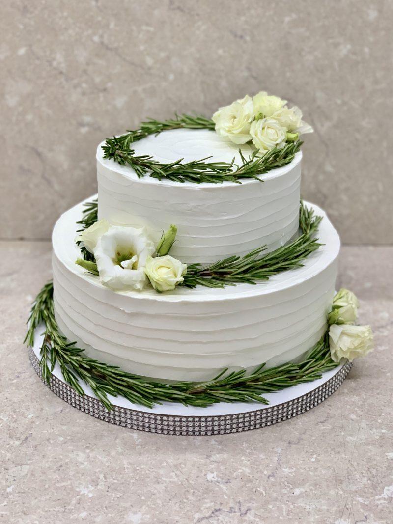Торт Свадебный рустик