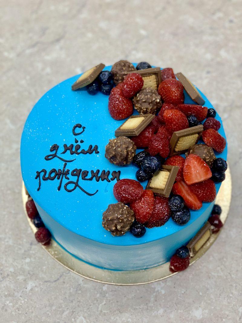 Торт Ягоды и шоколадки